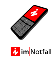 Button: IN - Im Notfall